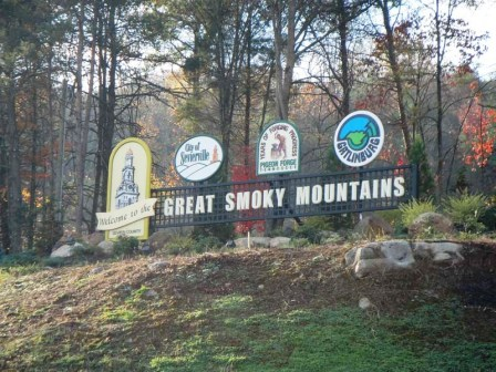 Welcome to the Great Smoky Mountains of East Tennessee.